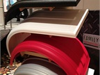 Minimizer s poly fenders were one of many products showcased in the