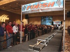 The annual All-Industry Reception and Pinewood Challenge drew 17 race