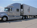 Trucks are spec ed with the latest in aerodynamic design, automated
