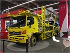 Several OEs are exhibiting auto-haulers, as there is big demand in
