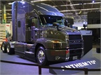 Mack introduced the Anthem to the Mexican market at Expo Transportes.