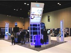 The Bendix booth at ATA MC&E. Photo: Evan Lockridge