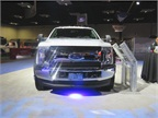 Ford showed off its 2017 SuperDuty cab/chassis model. Photo:David
