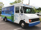 Propane-fueled Chevrolet P30 Stepvan from Percision Sales and Service.