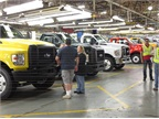 About 450 of the 1,400 workers at the plant are involved in F-650/750