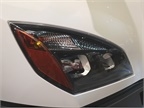 LED headlights are standard. These have a complex reflector and