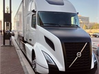 The Volvo SuperTruck boasted a 70% improvement in fuel efficiency. It