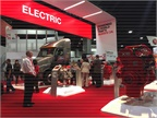 Electrification was a key theme of the NACV show. Photo: Deborah