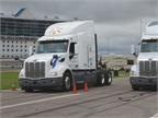 Peterbilt characterizes the technology more as the  cruise control of