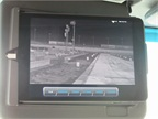 An infrared camera on the Walmart Technology Vehicle can  see  four