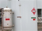 Methanol is added to the pipeline gas to absorb moisture. Then the gas