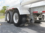Wide base single tires, like these on a J&M trailer, are a common