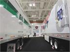 Great Dane showcased customer-branded trailers. Photo: Deborah