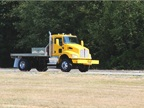 The Kenworth T370 4x4 daycab was also on the track for testing,