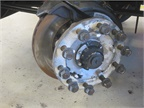 Air disc brakes were part of the challenge on both tractors and