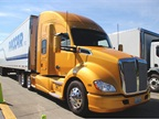 The Kenworth T680 is a 52-inch sleeper, equipped with an MX-13 engine