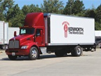 The Kenworth T440 CNG Extended Day Cab featured an ISL-G engine and