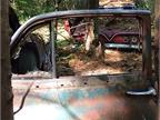 A junkyard picture frame. Photo: Christina Hamner