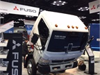 Mitsubishi Fuso will offer a gasoline V-8 with its Canter FE cabovers.