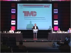 NACFE s Mike Roeth speaks on engine downspeeding at TMC 2017. Photo: