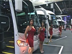 Expo Transporte is also about buses...and models.