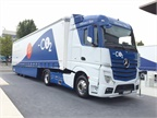 Mercedes-Benz and Germany-based trailer maker Krone have teamed up to