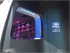 An automated cargo handling system in the Vision Van delivers the
