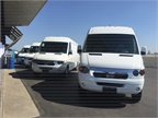 The vans have been designed from the ground up as electric vehicles.
