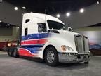 "The Kenworth T680 the company is highlighting as ""The Driver's Truck."" Photo: Deborah Lockridge"
