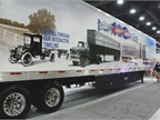 Utility built a special trailer to highlight its history on its 100th