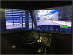 Wabco offered visitors an interactive simulation of its safety tech