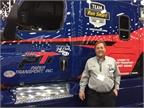 Jeff Clark, one of the Freightliner Run Smart owner-operators on hand