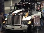Western Star was here showcasing its 50th anniversary and the 5700XE.