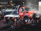 Navistar unveiled its new HV vocational model with much fanfare.