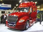 Navistar showed off its new LT on-highway model, the replacement for