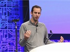Anthony Levandowski, co-founder of the autonomous trucking startup Otto, shared his vision for trucks not only without a driver, but even without a cab. Photo: Evan Lockridge
