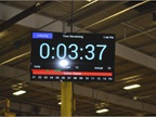 Workers are given a set time for assembly at each stop, which is