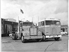 Early 1960s: Kenworth introduced two new models. The W900 conventional