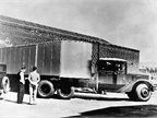 1936: The first sleeper was designed into a Kenworth in 1933. Shown is