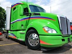 Kenworth claims the T680 Advantage is the most aerodynamic truck it has ever produced, boasting a 5% improvement over the standard T680.