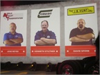 Three fleet drivers were featured during the launch because they