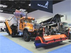 Mack announced new features for its Granite MHD truck and displayed