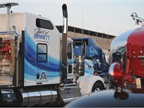 While most of the show truck are late-model long-nose trucks, you can