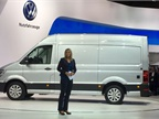 VW rolled out its new-from-the-ground-up Crafter full-size commercial