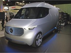 The Mercedes Vision Van, a concept vehicle, made its debut last year