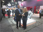 James Taylor, Meritor vice president, rear drivetrain NAFTA, accepts