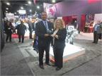 James Taylor, Meritor vice president, rear drivetrain NAFTA, accepts