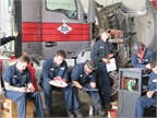 As part of the training, the technicians receive maintenance manuals