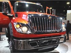 Navistar unveiled the new International HV vocational truck. Photo: