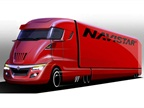 A concept drawing from Navistar, one of the teams working on the EPA